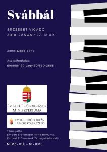 Alapítványi Hangverseny plakát jó